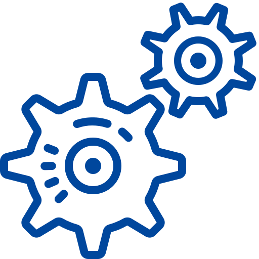 Blue services Icon