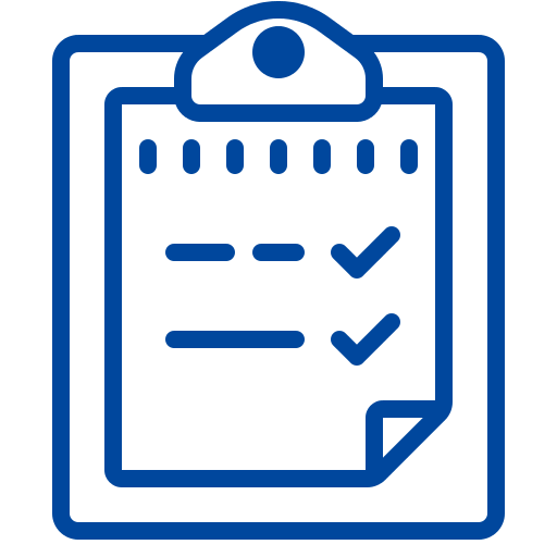 Blue new-resume Icon