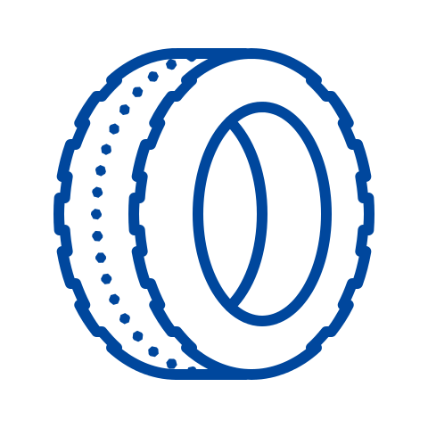Blue tire Icon